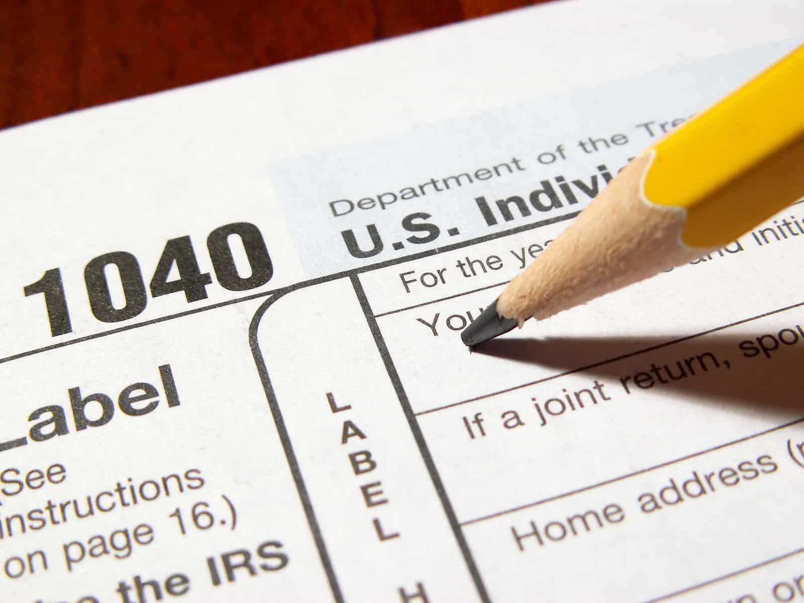 1040 US taxes