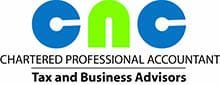 Logo with accountant and business advisors